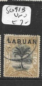 LABUAN (P0204B) 3C TREE  SG 91B  VFU