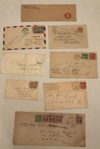 8 piece misc consignment remainder lot Chester County PA [S.59]