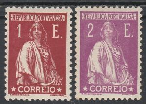 PORTUGAL 1930 CERES 1E AND 2E