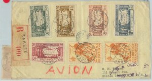 77355 - DAHOMEY - POSTAL HISTORY - Registered COVER from SAKETE 1947