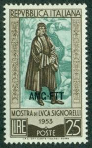 Trieste #186  Mint  VF NH  Scott $3.25  Luca Signorelli, ...