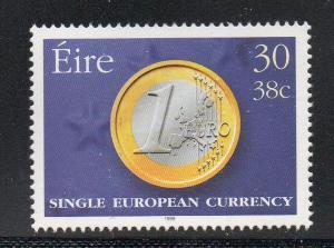 Ireland Sc 1179 1999 Introduction of Euro  stamp  mint NH