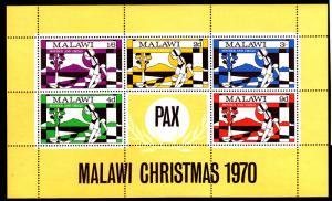 Malawi MNH S/S 146a Mother & Child Christmas 1970