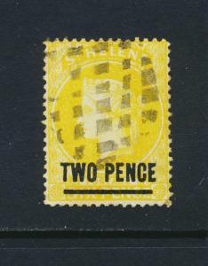ST HELENA 1880, 2d PERF 14, VF USED SG#28 CAT£45 $59 (SEE BELOW)