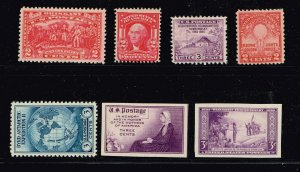 US STAMP 1920-30'  MINT STAMP COLLECTION LOT #F1