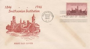 943 3c SMITHSONIAN INSTITUTION - Unknown #6 -  U/A
