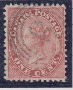 4 ring #8 CHATHAM RF4 ** son cancel -- VF #14 1cent Rose Canada