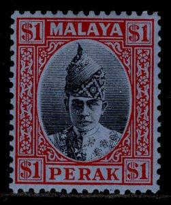 MALAYSIA - Perak GVI SG119, $1 black & red/blue, M MINT. Cat £150.