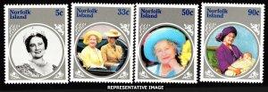Norfolk Islands Scott 364-367 Mint never hinged.