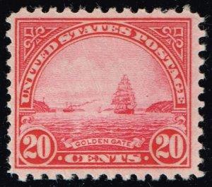 US #698 Golden Gate; Unused (3Stars)