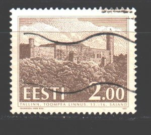 Estonia. 1993. 213. Castle. USED.
