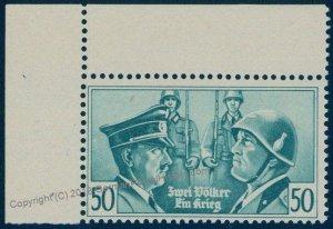British Propaganda Forgery Mi50 MNH Italy Germany Hitler Mussolini Photo C 94665