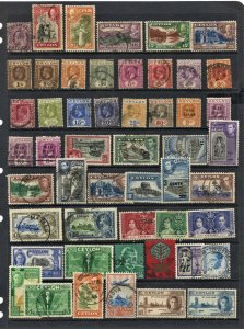 STAMP STATION PERTH Ceylon #51 Stamps Mint / Used - Unchecked