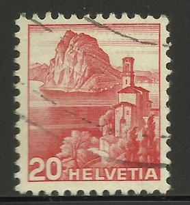 Switzerland 1938 Scott# 243 Used