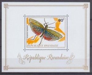 1973 Rwanda 548/B30 Butterflies 7,50 €
