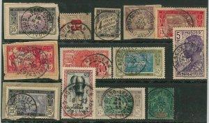 44849  - IVORY COAST Côte d'Ivoire - POSTAL HISTORY - USED  stamps nice POSTMARK