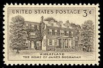 1081 Wheatland F-VF MNH single