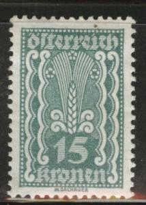 Austria Scott 259 MH* stamp from 1922-24 set