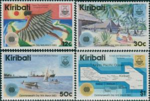 Kiribati 1983 SG197-200 Commonwealth Day set MNH