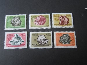 Hungary 1958 Sc 1183-6 set MNH