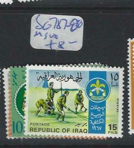 IRAQ   (P2803B) SCOUT     SG 787-90     MNH