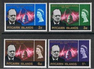 PITCAIRN ISLANDS 1966 CHURCHILL MEMORIAL