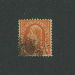 1895 United States Postage Stamp #275 Used Fine Postal Cancel