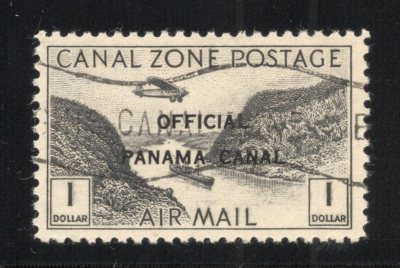 CZ#CO7 Air Post Official - With Overprint and O.G. as Issued