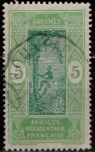 Dahomey 1913: Sc. # 45; O/Used Single Stamp