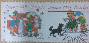Sweden Scott Cat #- 2522a-b