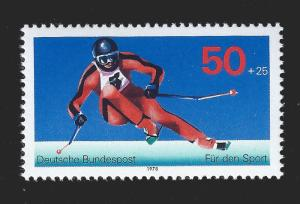 Germany FRG 1978 Sc B547 MNH For Sports Skiier