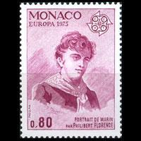 MONACO 1975 - Scott# 961 Europa-Sailor 80c NH