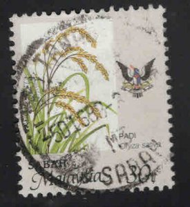 Malaysa Sabah  Scott 45 Used agriculture stamp