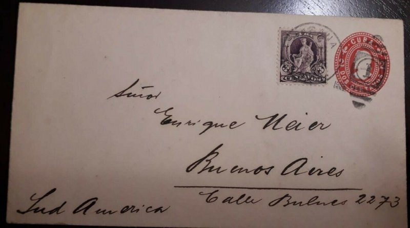 O) 1906  SPANISH ANTILLES, ALLEGORY - ISSUE REPUBLIC UNDER US MILITARY RULE - 1c