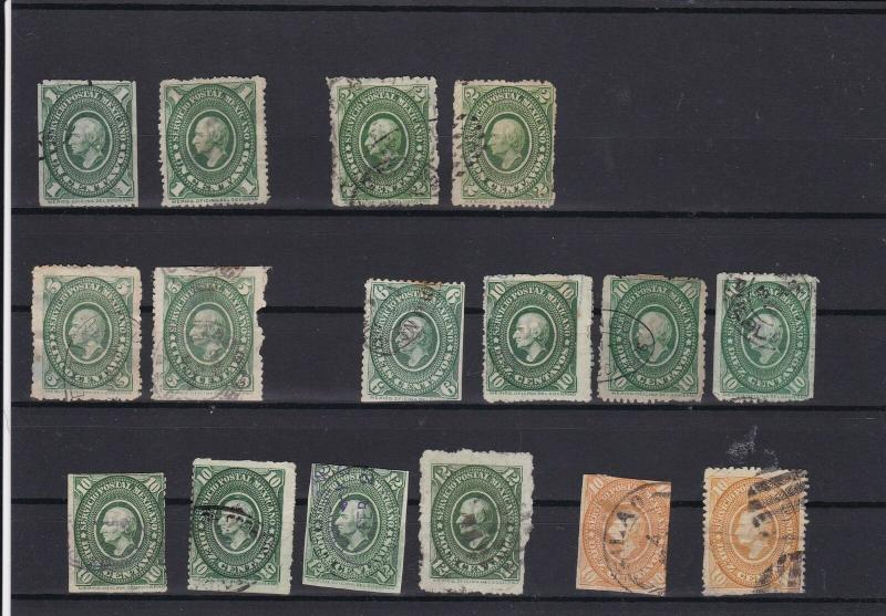 Mexico 1884 Stamps  ref R 16974