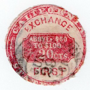 (I.B) US Revenue : Inland Exchange 20c (California)
