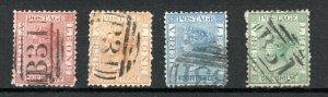 Sierra Leone 1872-73 set to 1s FU