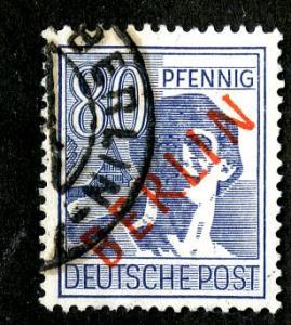 GERMANY - BERLIN  9N32 USED SCV $9.00  BIN $4.00