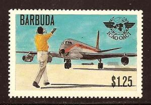 Barbuda  #  393  Mint  N H  .       A