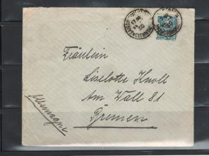 COVER SAIGON-GERMANY HANS RUSVHER to Fraulein LISELOTTE KNOLL SAIGON14/05/1930