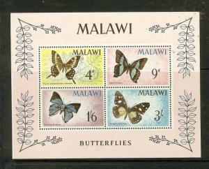 MALAWI  (B1901) BUTTERFLY SC40A  MNH