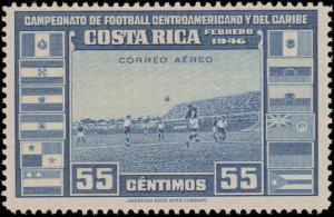 Costa Rica #C121-C123, Complete Set(3), Hinged