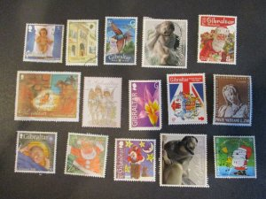 Gibraltar Assortment Used #13- (5D4) WDWPhilatelic