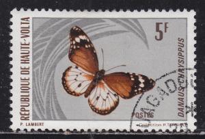 Burkina Faso 247 Danaus Chyrsippus 1971