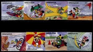 Grenada 2037-46b MNH Disney, Thrill Sports
