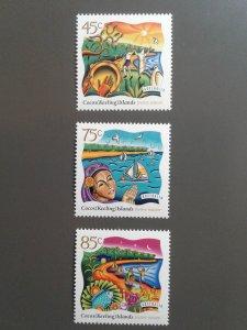 Cocos Islands 323-325 VF MNH (Yr: 1997) Scott $ 4.35