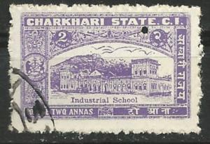 India-Charkhari # 30 Industrial School  (1) VF Used