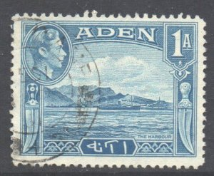 Aden Scott 18 - SG18, 1939 George VI 1a used