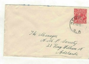 APH1496) Australia 2d Red KGV Die III Small Cover
