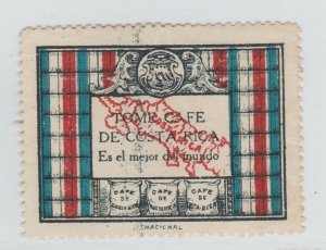 Costa Rica  fiscal revenue cinderella stamp 5-31-35